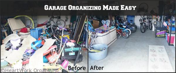 3 cute garage organizing ideas