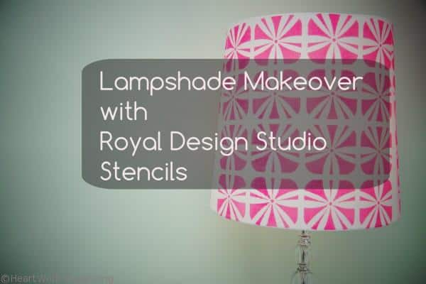 Lampshade Makeovers title