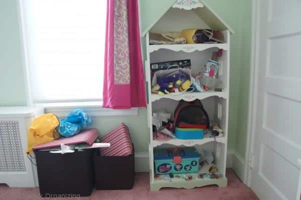 Organizing a child's room