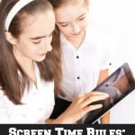Screen Time Rules: Organizing Tips for Parents & Free Printable