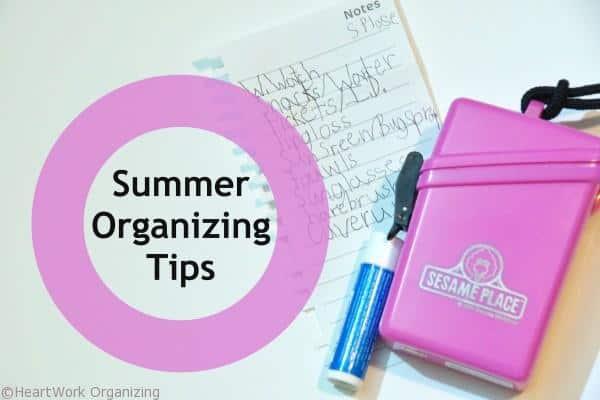 5 tips to organize summer fun