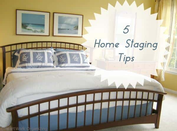 inexpensive tips for home staging