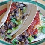 Easy Taco Dinner {Calphalon Slow Cooker}