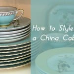 How to Style a China Cabinet