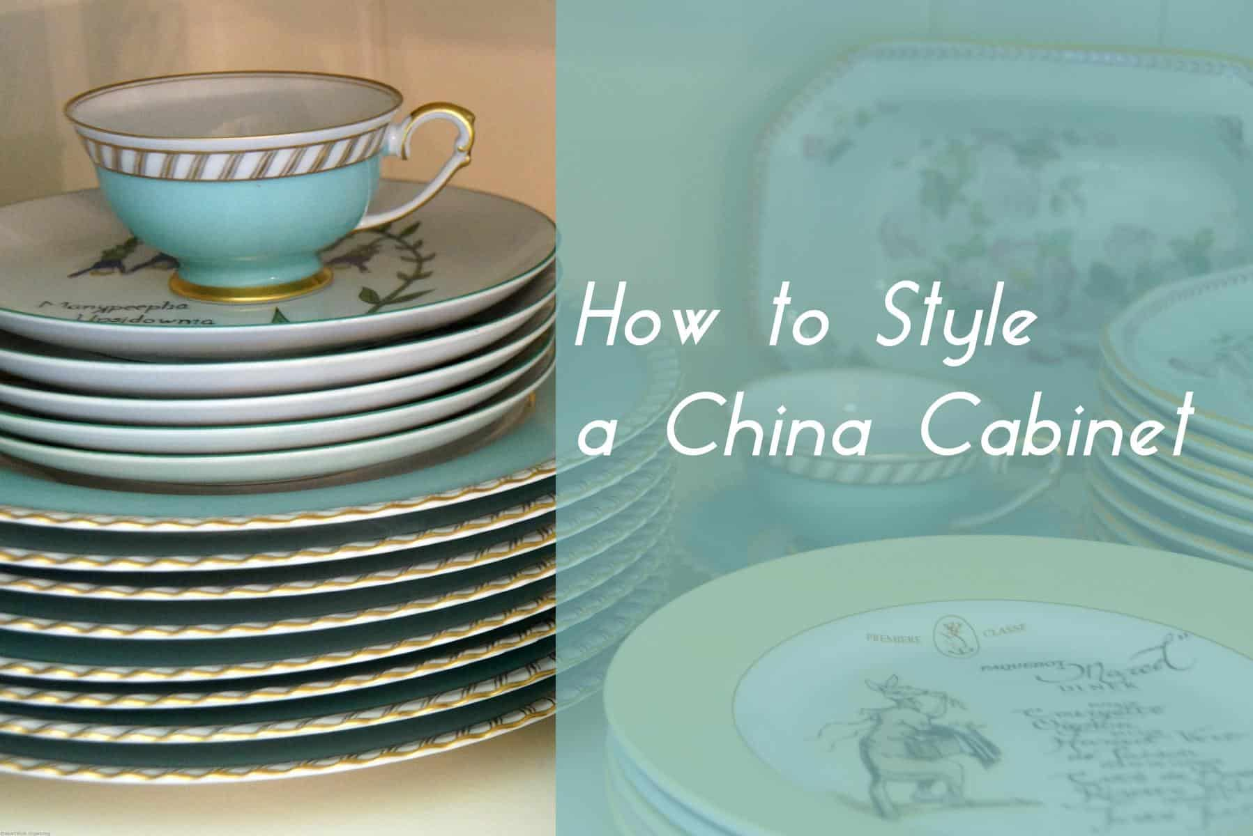 Image Result For China Cabinet Decorating Ideas
