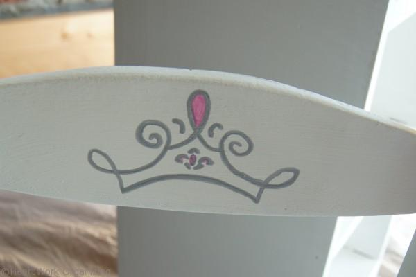 Use marker for crown detail