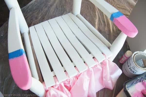 skirt for princess chair