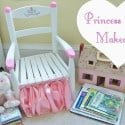 Princess Chair Makeover {Curbside Treasure}