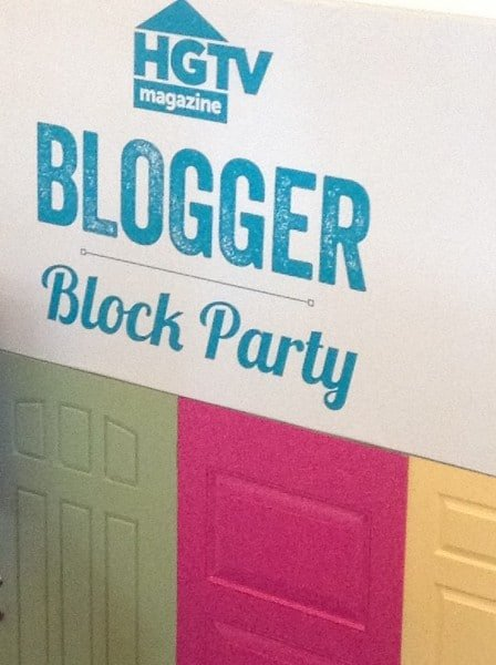 Welcome to the HGTV Blogger Block Party