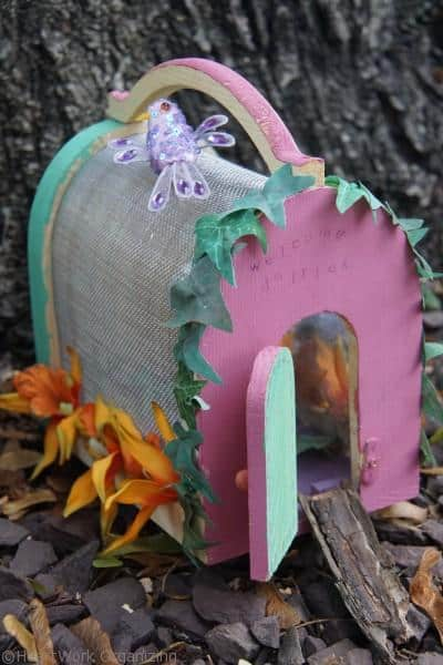 Painted Fairy House