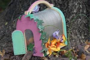 Finsihed Fairy House