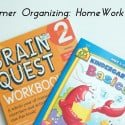 Summer Organizing Tip: Homework Plans