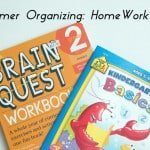 Summer Organizing Tip: Homework Plans