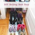 Rolling Boot Tray