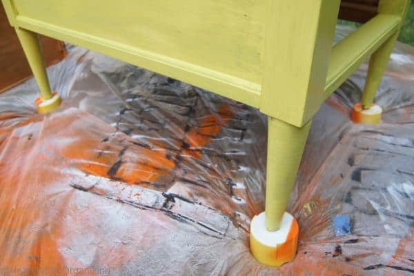 End Table Makeover with Chalk Paint by Annie Sloan ASCP