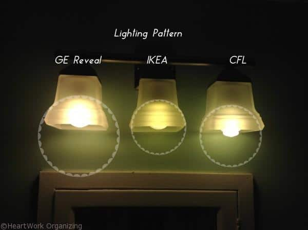 CFL light bulb comparison