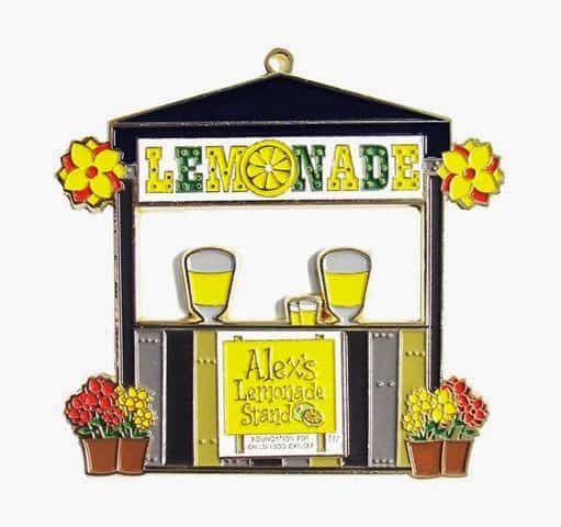 Alexs Lemonade Stand ornament image