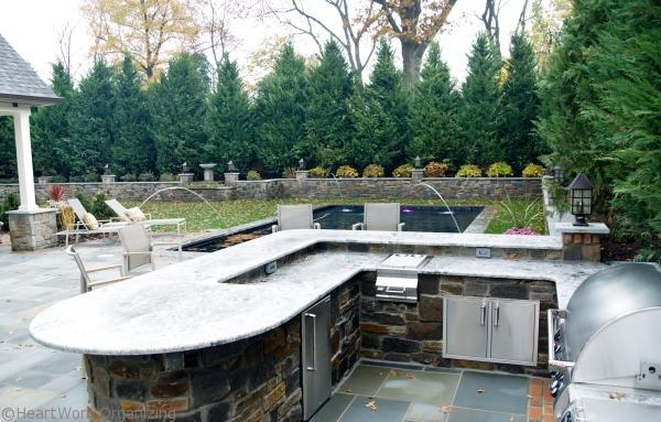 design home outdoor kitchen
