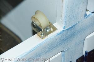 drawer roller causes wear