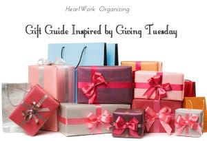 Gift Guide Inspired by Giving Tuesday (#GivingTuesday)