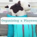 Organizing in a Child's Playroom
