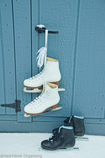 snow day activities for kids- learn to ice skate