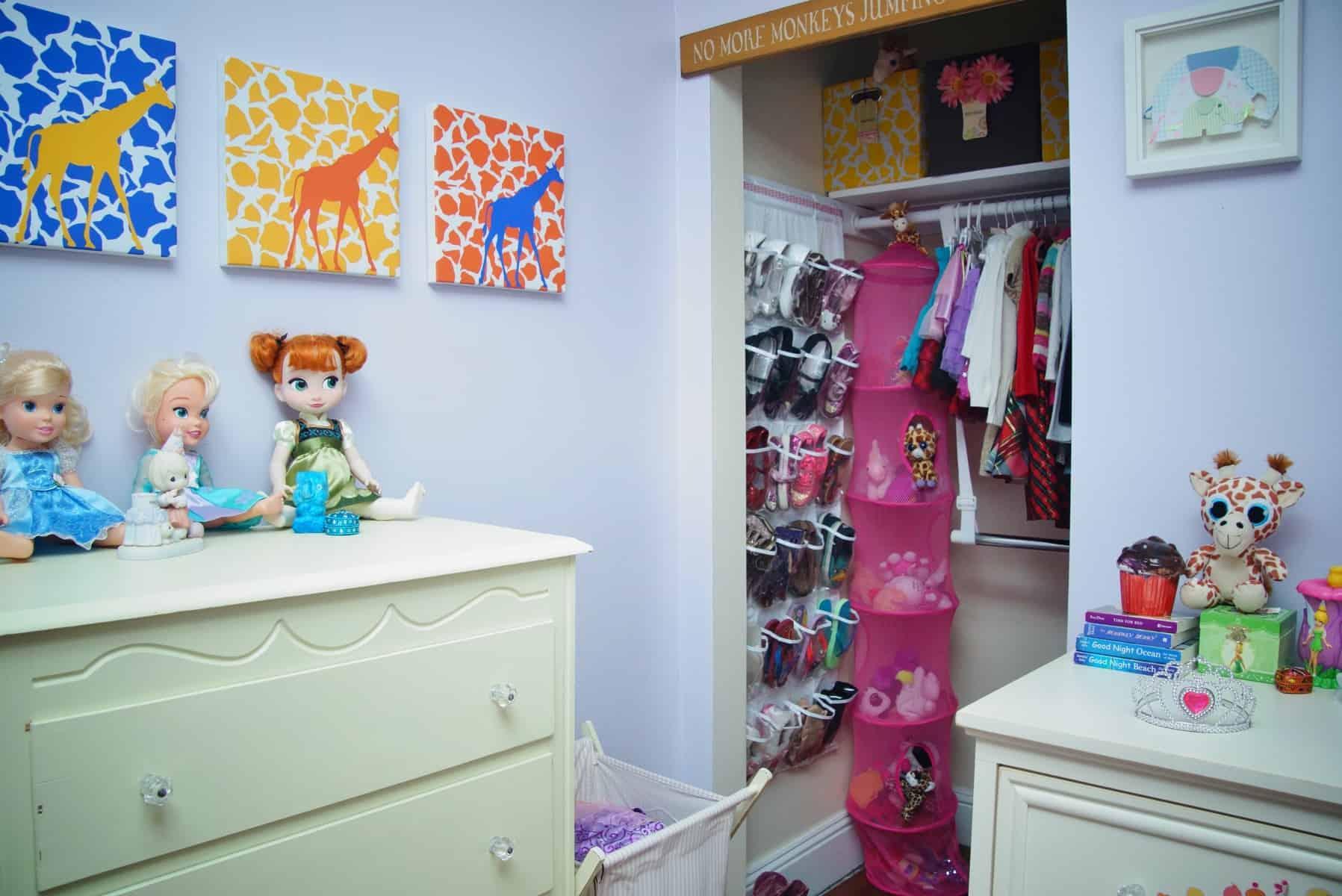 Super Organized Childu0027s Closet