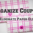 Organize Coupons and Paper