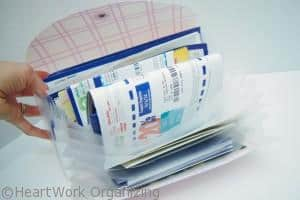 how to organize coupons to eliminate clutter