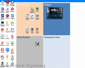 how to organize your PC desktop icons