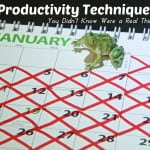 5 Productivity Techniques You Didn't Know Were a Real Thing