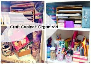 Organize Craft Cabinet