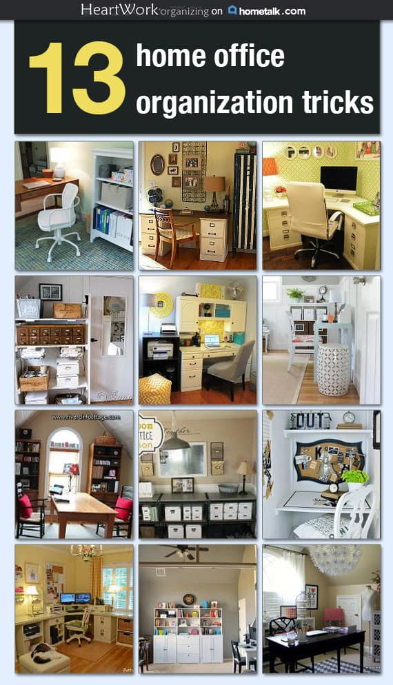 Home Office Organizing Tips