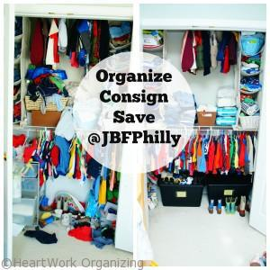 Organize and Consign with JBF