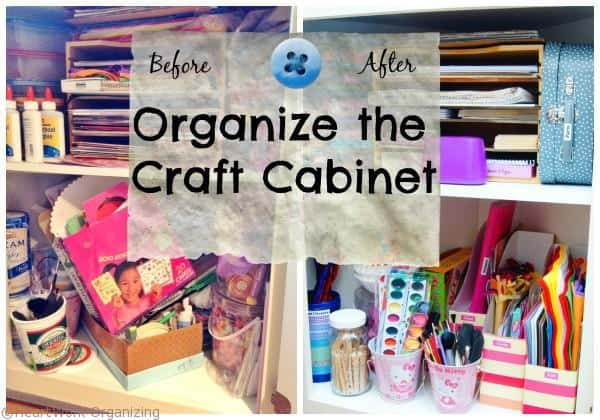 Organize Craft Cabinet