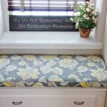 Simple Bench Seat Cushion