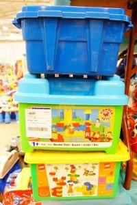 toy bins help kids organize