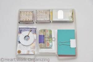 how to organize labels