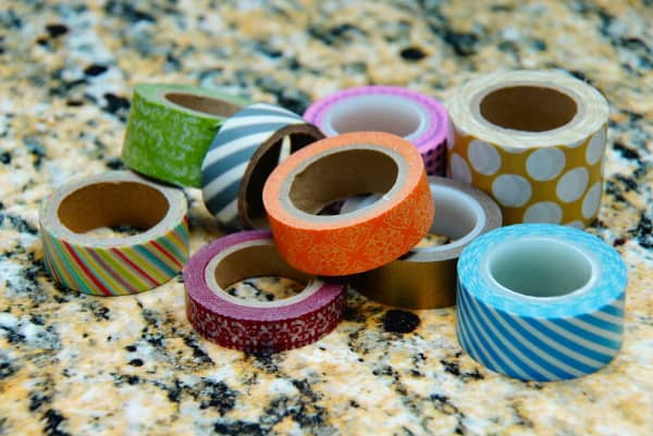 washi tape a mail station
