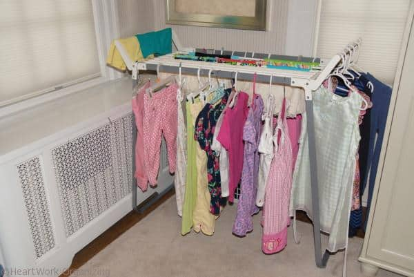 drying rack for spring cleaning laundry helpers