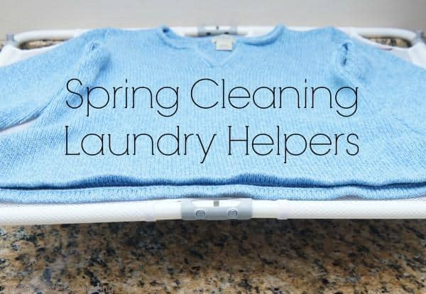 spring cleaning laundry helpers from OXO