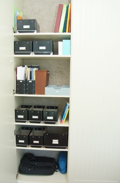 Organizing an Office in a Closet (15)