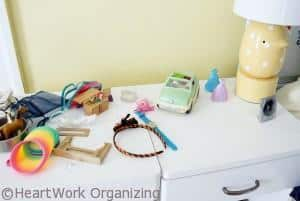 Paint Chip DIY Jewel Box Craft helps organize jewelry
