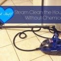 Hot Stuff! Steam Clean the House Without Chemicals