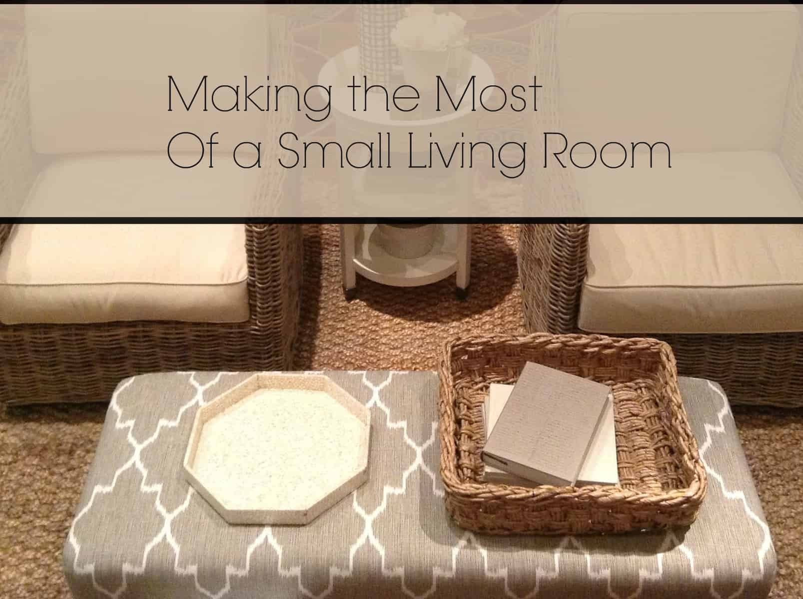 Making the most of a small living room heartwork for Organize a small living room