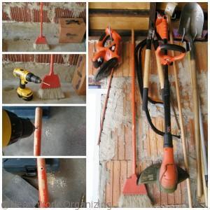 make any wood handled tool a hanging tool