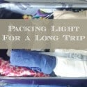How to Pack Light for a Long Trip