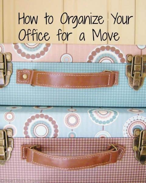 How to Organize Your Office for a Move