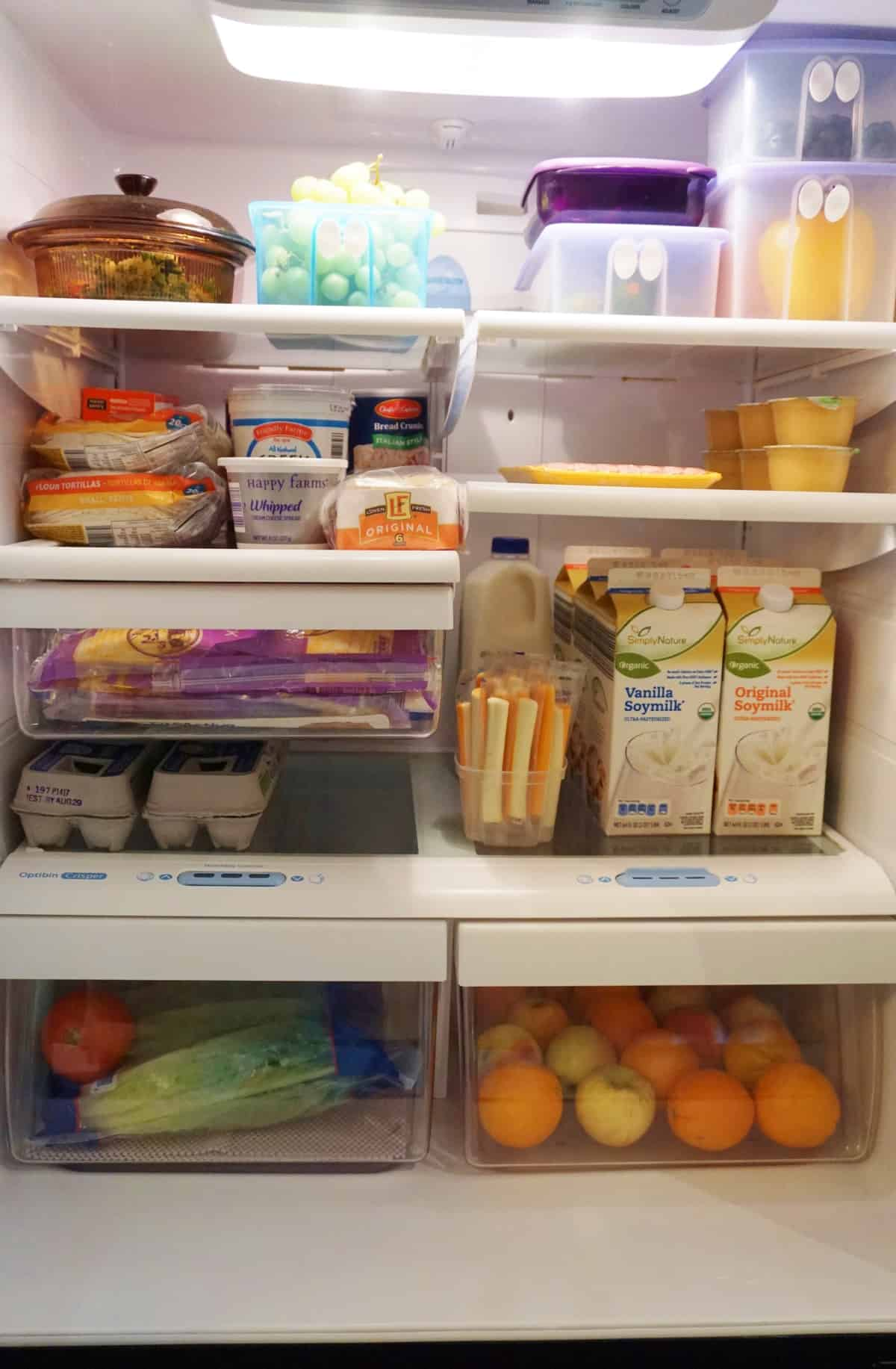 how to clean the fridge from inside