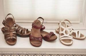 What shoes to pack on a long trip to Paris
